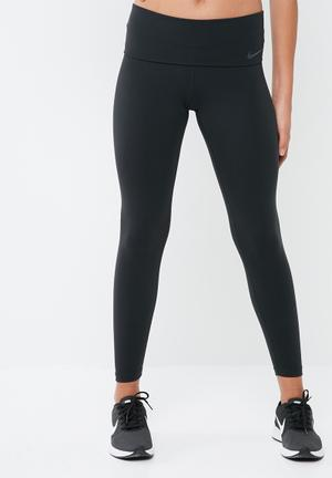 Nike Power Legendary Low Rise Tights Bottoms Black
