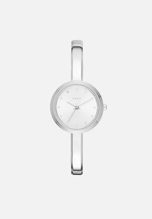 DKNY Murray Watches Silver