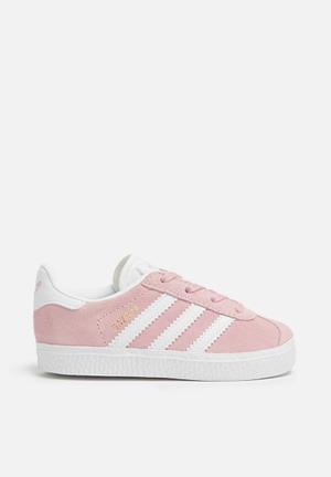 Adidas Originals Kids Gazelle Shoes Ice Pink/white/gold Kids