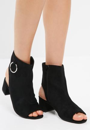 Public Desire Space Boots Black