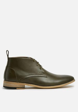 Basicthread Entice Boots Olive