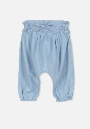 Cotton On Baby Phoebe Slouch Pant Blue