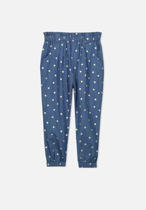 Cotton On Kids Jaqlin Pant Blue