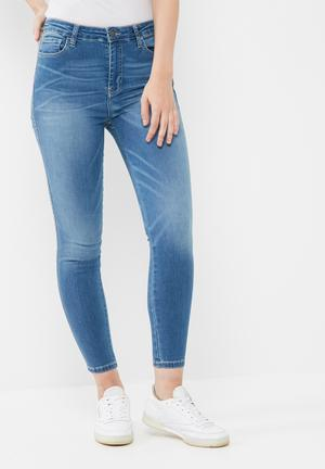 GUESS 1981 High Rise Jeans Blue