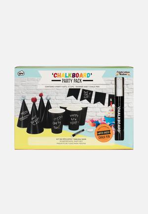 NPW Chalkboard Party Pack Partyware