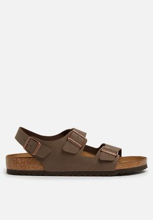 Birkenstock Milano Sandals & Flip Flops Brown