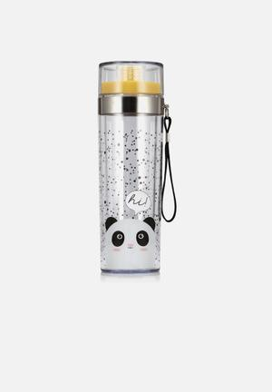NPW Oh K! Water Bottle Gifting & Stationery Plastic, Stainless Steel And Silicone