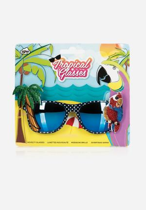 NPW Tropical Glasses Partyware