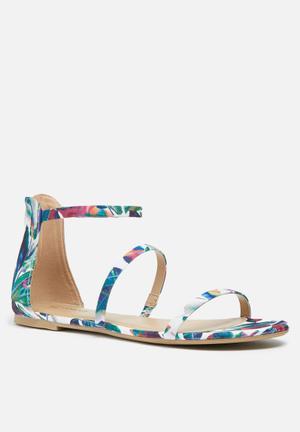 Call It Spring Keahi Sandals & Flip Flops Green Multi