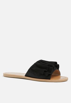 Call It Spring Nilian Sandals & Flip Flops Black