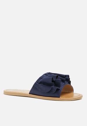 Call It Spring Nilian Sandals & Flip Flops Navy