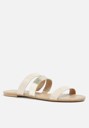 Call It Spring Acci Sandals & Flip Flops Neutral