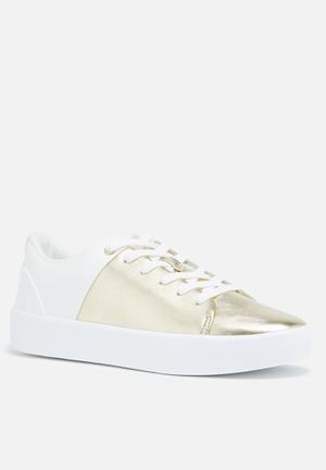 ALDO Etilivia Sneakers White & Gold