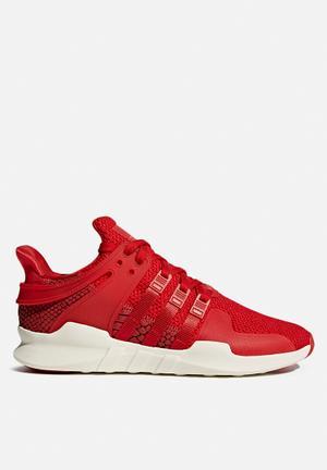 Adidas Originals EQT Sneakers Scarlet / Off White
