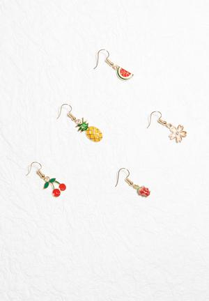 Dailyfriday Summer Earring Pack Jewellery Multi