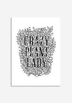Sixth Floor Crazy Plant Lady Art