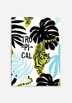 Sixth Floor Tropical Tiger Art