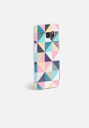 Hey Casey Soft Serve IPhone & Samsung Cover Teal, Pink, Beige, White & Navy