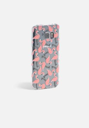 Hey Casey Flamingos IPhone & Samsung Cover Pink