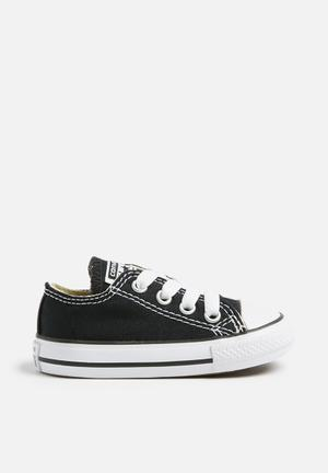 Converse Infant All Star LO Shoes Black