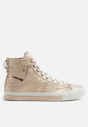 Diesel  Exposure IV Sneakers White / Copper