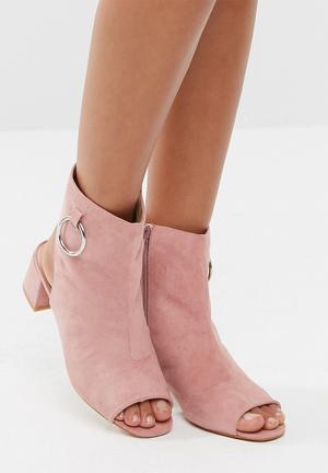 Public Desire Space Boots Pink