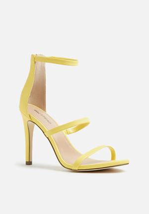 Call It Spring Astoelia Heels Yellow