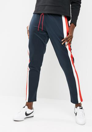 ONLY Tracy Pants Trousers Navy / White / Red