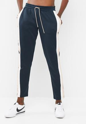 ONLY Tracy Pants Trousers Navy / White / Rose Gold
