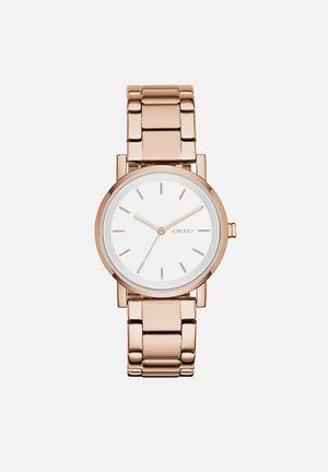 DKNY Soho Watches Rose Gold