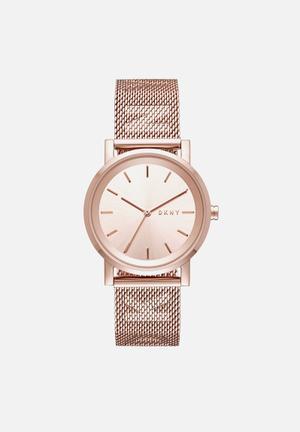 DKNY Soho Watches Rose Gold
