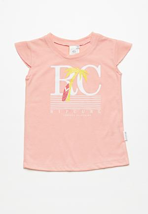 Rip Curl Forever Searching Tee Tops Pink