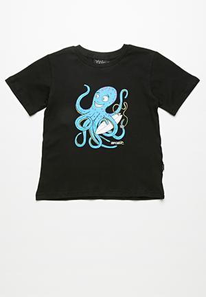 Rip Curl Octopus Curly Tee Black