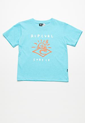 Rip Curl Icon Corp Phaser Tee Tops Green