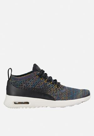 Nike Air Max Thea Ultra Flyknit Sneakers Black / Black - Ivory Night