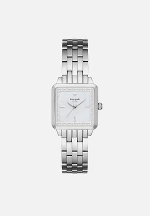 Kate Spade New York Washington Watches Silver