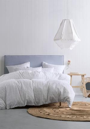 Linen House Fergus Duvet Cover Set Bedding Cotton