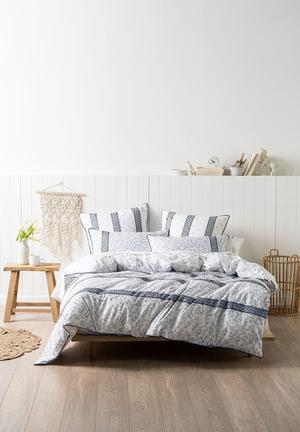 Linen House Hailey Duvet Cover Set Bedding Cotton