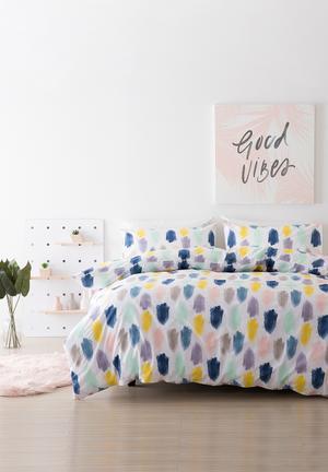 Linen House Solace Duvet Cover Set Bedding Cotton