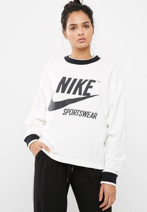Nike Archive Crew Sweat White