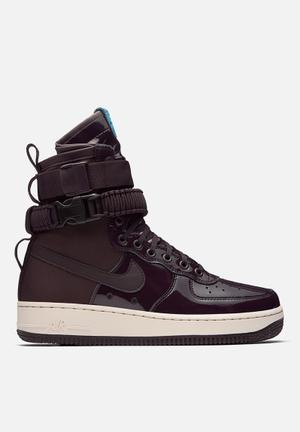 Nike Special Forces Air Force 1 Sneakers Port Wine / Space Blue