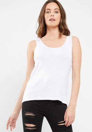 Dailyfriday Scoop Style Vest White