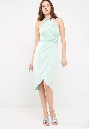 Dailyfriday Slinky Infinity Strap Dress Occasion Mint