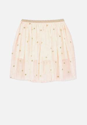 Cotton On Kids Trixiebelle Tulle Skirt Peach