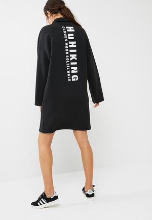 Adidas Originals Loose Dress Casual Black