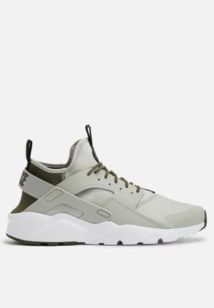 Nike Air Huarache Run Ultra Sneakers Pale Grey / Cargo Khaki