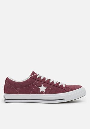 Converse One Star Sneakers Deep Bordeaux