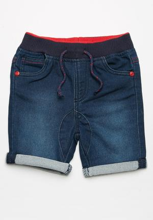 MINOTI Denim Shorts Blue