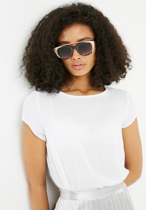 ALDO Silberbe Eyewear Black & Gold