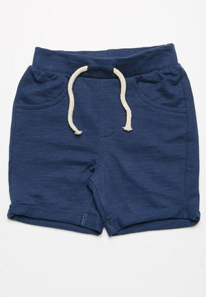 MINOTI Fleece Shorts Navy